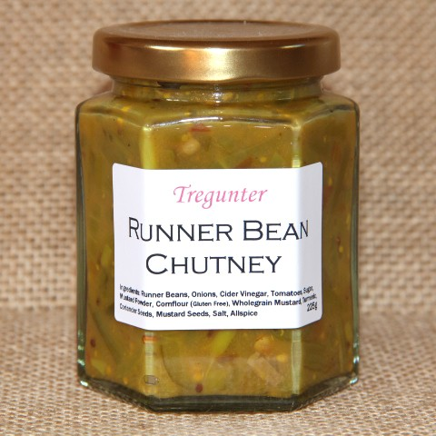 Tregunter Runner Bean Chutney
