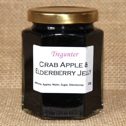 Apple & Elderberry jelly